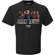 Hendrick Motorsports Team Collection Justice League All Character T-Shirt - Black