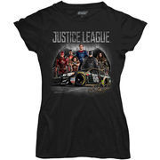 Dale Earnhardt Jr. Hendrick Motorsports Team Collection Women's Justice League T-Shirt - Black