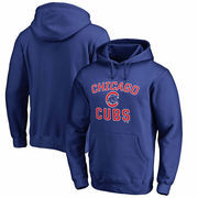 Chicago Cubs Fanatics Branded Big & Tall Victory Arch Pullover Hoodie – Royal