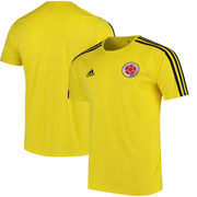 Colombia National Team adidas Home Fan climalite T-Shirt – Yellow/Navy
