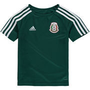 Mexico National Team adidas Youth Home Fan climalite T-Shirt – Green/White