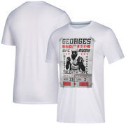 Georges St-Pierre UFC UFC 217 Return of GSP Fight Poster T-Shirt - White