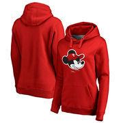 Philadelphia Phillies Fanatics Branded Women's Disney Game Face Pullover Hoodie - Red