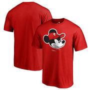 Philadelphia Phillies Fanatics Branded Disney Game Face T-Shirt - Red