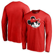 Philadelphia Phillies Fanatics Branded Disney Game Face Long Sleeve T-Shirt - Red