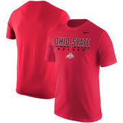 Ohio State Buckeyes Nike Center Line Hockey T-Shirt – Scarlet