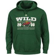 Minnesota Wild Majestic Winning Boost Pullover Hoodie - Green