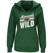 Minnesota Wild Majestic Women's Backchecking Hoodie - Green