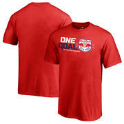New York Red Bulls Fanatics Branded Youth 2017 MLS Cup Playoffs One Goal T-Shirt – Red
