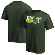 Portland Timbers Fanatics Branded Youth 2017 MLS Cup Playoffs One Goal T-Shirt – Green