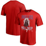 Philadelphia Phillies Fanatics Branded Roll Deep with the Empire T-Shirt - Red