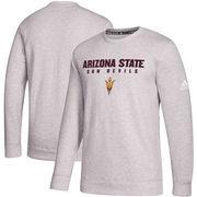 Arizona State Sun Devils adidas Sideline Wordmark Sweatshirt - Gray