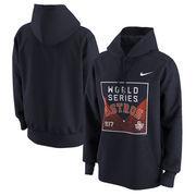 Houston Astros Nike 2017 World Series Bound Logo Pullover Hoodie - Navy