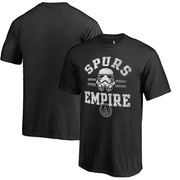 San Antonio Spurs Fanatics Branded Youth Star Wars Empire T-Shirt - Black