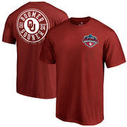 Oklahoma Sooners vs. Texas Longhorns Fanatics Branded 2017 Football Score T-Shirt - Crimson