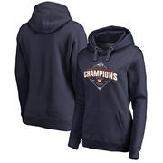 Houston Astros Fanatics Branded Women's 2017 American League Champions Pennant Pullover Hoodie - Navy