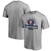 Houston Astros Fanatics Branded 2017 American League Champions Fly Ball Big & Tall T-Shirt - Heather Gray