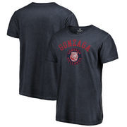 Gonzaga Bulldogs Fanatics Branded Vault Arch Over Logo Shadow Washed T-Shirt - Navy