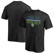 Seattle Sounders FC Fanatics Branded Youth Eternal Blue, Forever Green T-Shirt - Black