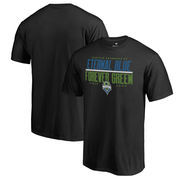 Seattle Sounders FC Fanatics Branded Eternal Blue, Forever Green T-Shirt - Black