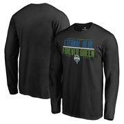 Seattle Sounders FC Fanatics Branded Eternal Blue, Forever Green Long Sleeve T-Shirt - Black