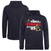 New Orleans Pelicans Fanatics Branded Youth Star Wars Jedi Strong Pullover Hoodie - Navy