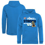 Oklahoma City Thunder Fanatics Branded Youth Star Wars Jedi Strong Pullover Hoodie - Blue