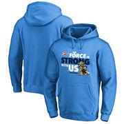 Oklahoma City Thunder Fanatics Branded Star Wars Jedi Strong Pullover Hoodie - Blue