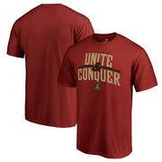 Atlanta United FC Fanatics Branded Unite & Conquer T-Shirt - Cardinal