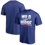 Yasiel Puig Los Angeles Dodgers Fanatics Branded Hometown Collection Wild Horse T-Shirt – Royal