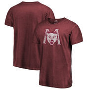 Montana Grizzlies Fanatics Branded College Vault Primary Logo Shadow Washed T-Shirt - Garnet