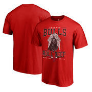 Chicago Bulls Fanatics Branded Star Wars Roll Deep with the Empire T-Shirt - Red
