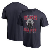 New Orleans Pelicans Fanatics Branded Star Wars Roll Deep with the Empire T-Shirt - Navy