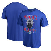 Philadelphia 76ers Fanatics Branded Star Wars Roll Deep with the Empire T-Shirt - Royal
