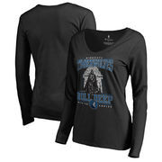 Minnesota Timberwolves Fanatics Branded Women's Star Wars Roll Deep with the Empire Long Sleeve T-Shirt - Black