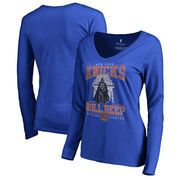 New York Knicks Fanatics Branded Women's Star Wars Roll Deep with the Empire Long Sleeve T-Shirt - Royal