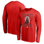 Houston Rockets Fanatics Branded Star Wars Roll Deep with the Empire Long Sleeve T-Shirt - Red