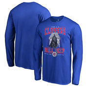 LA Clippers Fanatics Branded Star Wars Roll Deep with the Empire Long Sleeve T-Shirt - Royal