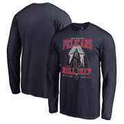 New Orleans Pelicans Fanatics Branded Star Wars Roll Deep with the Empire Long Sleeve T-Shirt - Navy
