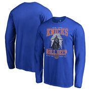 New York Knicks Fanatics Branded Star Wars Roll Deep with the Empire Long Sleeve T-Shirt - Royal