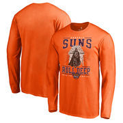 Phoenix Suns Fanatics Branded Star Wars Roll Deep with the Empire Long Sleeve T-Shirt - Orange