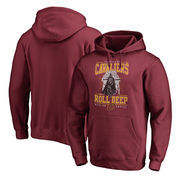 Cleveland Cavaliers Fanatics Branded Star Wars Roll Deep with the Empire Pullover Hoodie - Garnet