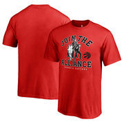 Toronto Raptors Fanatics Branded Youth Star Wars Alliance T-Shirt - Red