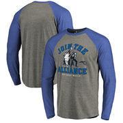 Orlando Magic Fanatics Branded Star Wars Alliance Tri-Blend Long Sleeve T-Shirt - Heathered Gray