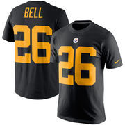 Le'Veon Bell Pittsburgh Steelers Nike Player Pride Color Rush Name & Number T-Shirt - Black
