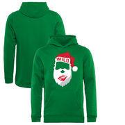 Minnesota Wild Fanatics Branded Youth Jolly Pullover Hoodie - Kelly Green