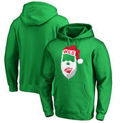 Minnesota Wild Fanatics Branded Jolly Pullover Hoodie - Kelly Green