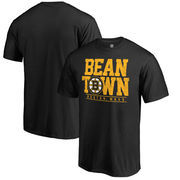 Boston Bruins Fanatics Branded Big & Tall Hometown Collection Local T-Shirt – Black