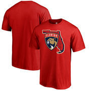 Florida Panthers Fanatics Branded Big & Tall Hometown Collection Local T-Shirt – Red