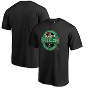 Boston Celtics Fanatics Branded Big & Tall Crafted Hometown Collection T-Shirt - Black